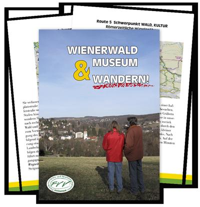 Broschüre Wienerwald Museam & Wandern