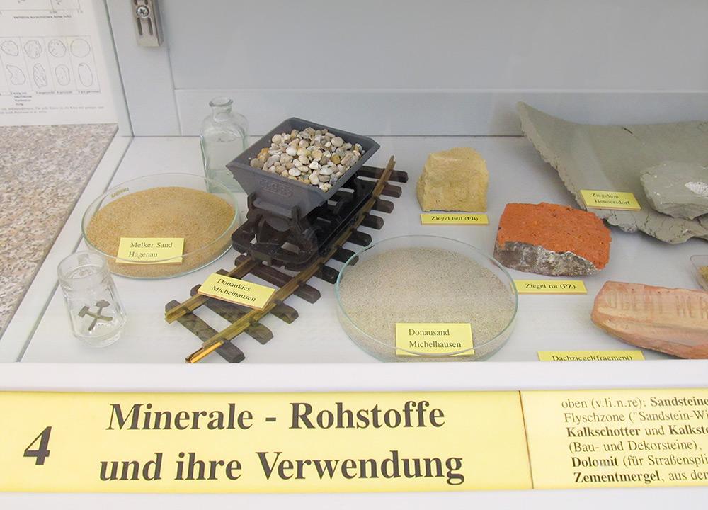 Mineralische Rohstoffe der Molassezone: Sand und Kies